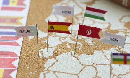 Ideas de mapas de los países visitados