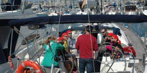 team building para empresas en el mar