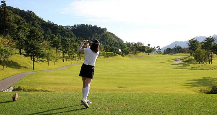 Técnica del swing en golf